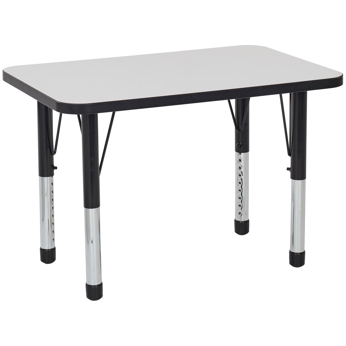 Adjustable Height Activity Table Rectangle Adjustable Height Whiteboard Activity Tables