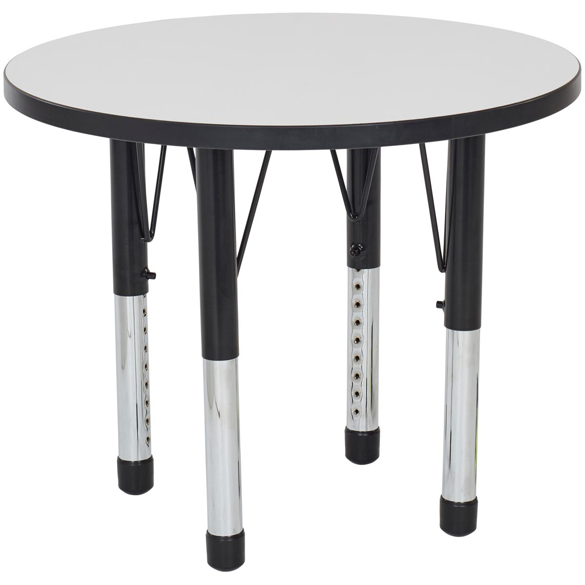 Adjustable Height Activity Table Round Adjustable Height Whiteboard Activity Tables Schoolsin