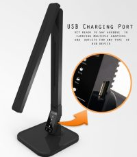Review of LAMPAT Dimmable LED Desk Lamp, Piano Black