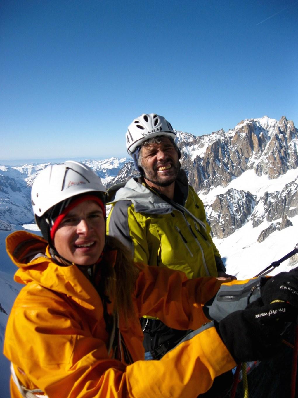 Am Gipfel mit Egon