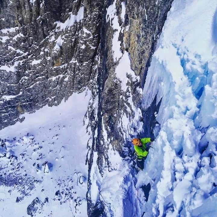 Die letzten Meter zum Ausstieg Foto: Steve House