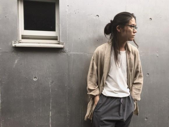 Linen Summer Jacket Coordinate vintage styling roundabout blog