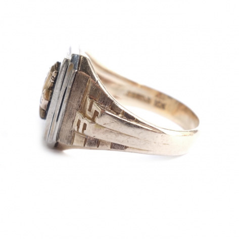 """JOSTEN""  College Ring vintage blog"