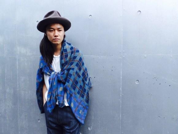 """""""roundabout"""" Slim Denim Pants & Vintage Design Check Shirt Styling vintage styling roundabout pimpstick_jp blog"""