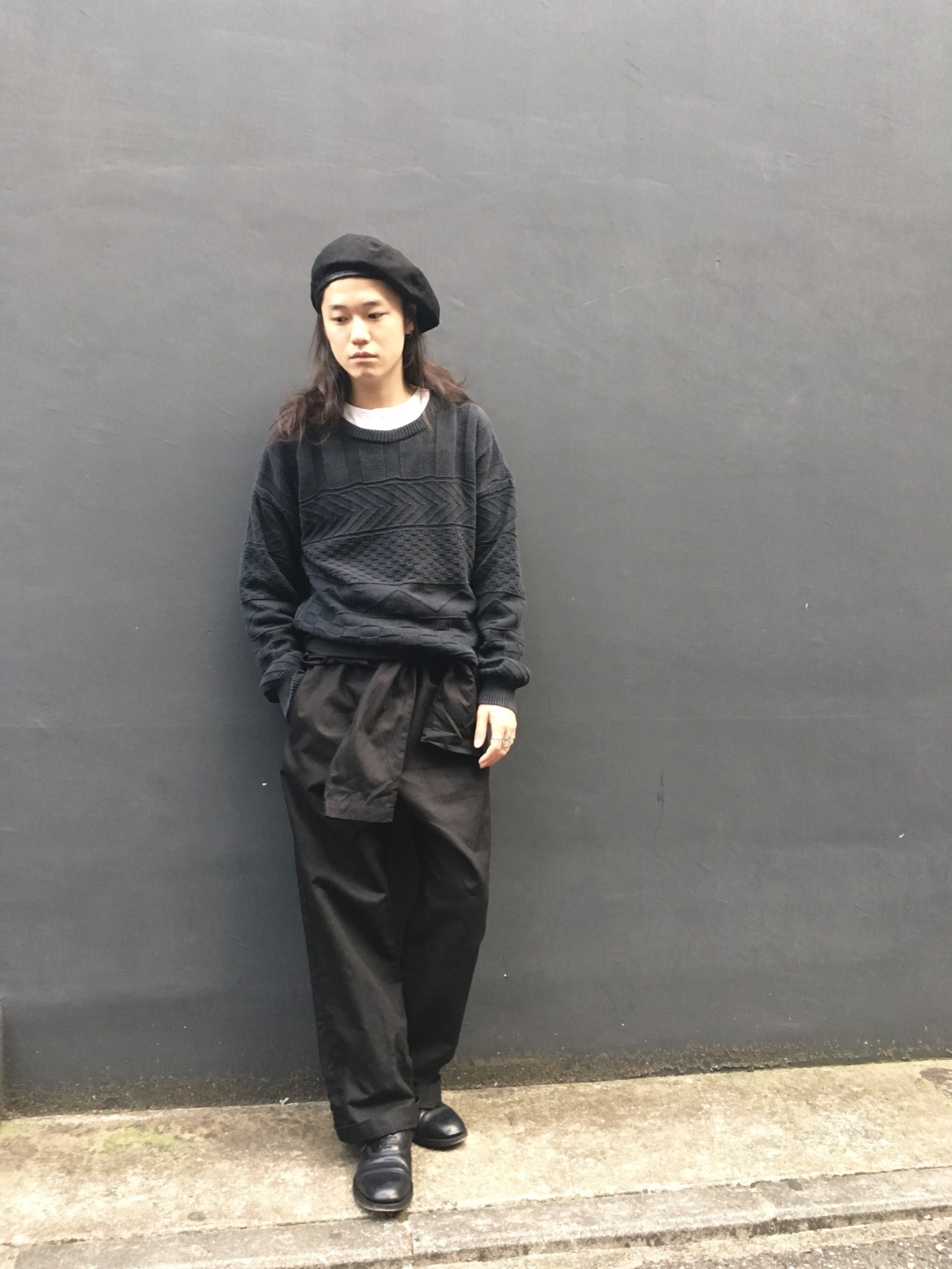 """pimpstick"" Linen × Cotton All In One vintage styling pimpstick_jp blog"
