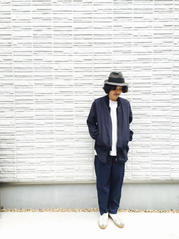 """pimpstick"" Original Fake Layered Blouson voiry pimpstick_jp blog"