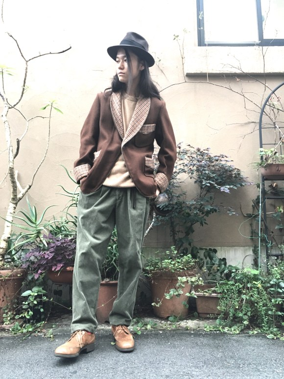 Remake Corduroy Pants vintage blog