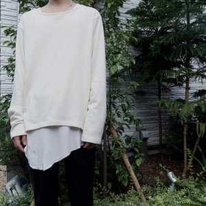【roundabout】Long Sleeve Crew Neck T-shirt roundabout blog