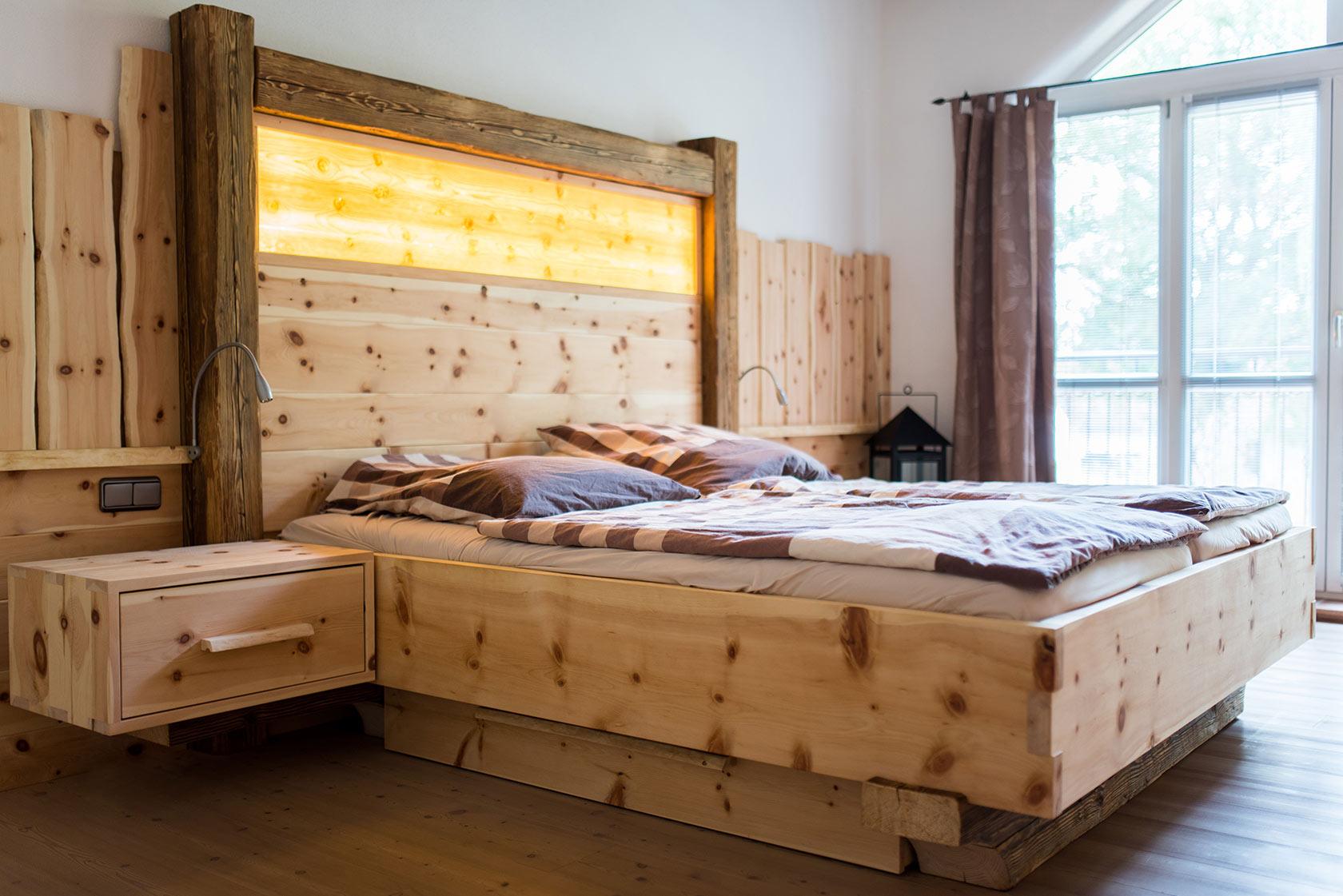 Schlafzimmer Zirbe Modern | Zirbenholz Schlafzimmer Modern