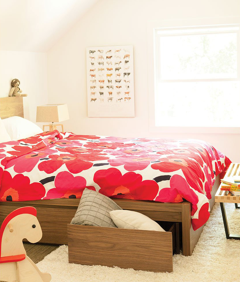 Simple Bed Eq3 Simple Bed With Storage Schreiters