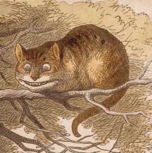 Hoe heet de kat van Alice in Wonderland?