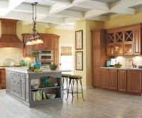 Different Types Of Kitchen Islands Carmin Cabinet Door Style - Schrock Cabinetry
