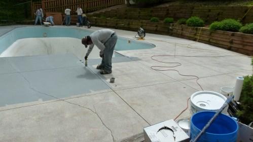 Medium Of Pool Deck Resurfacing