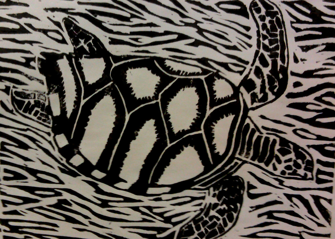 Lino Central Printmaking Lino South Central High School Visual Art