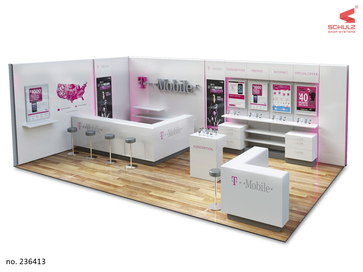 T Mobile Shop Berlin Schulz Shop Systeme Development Production Delivery