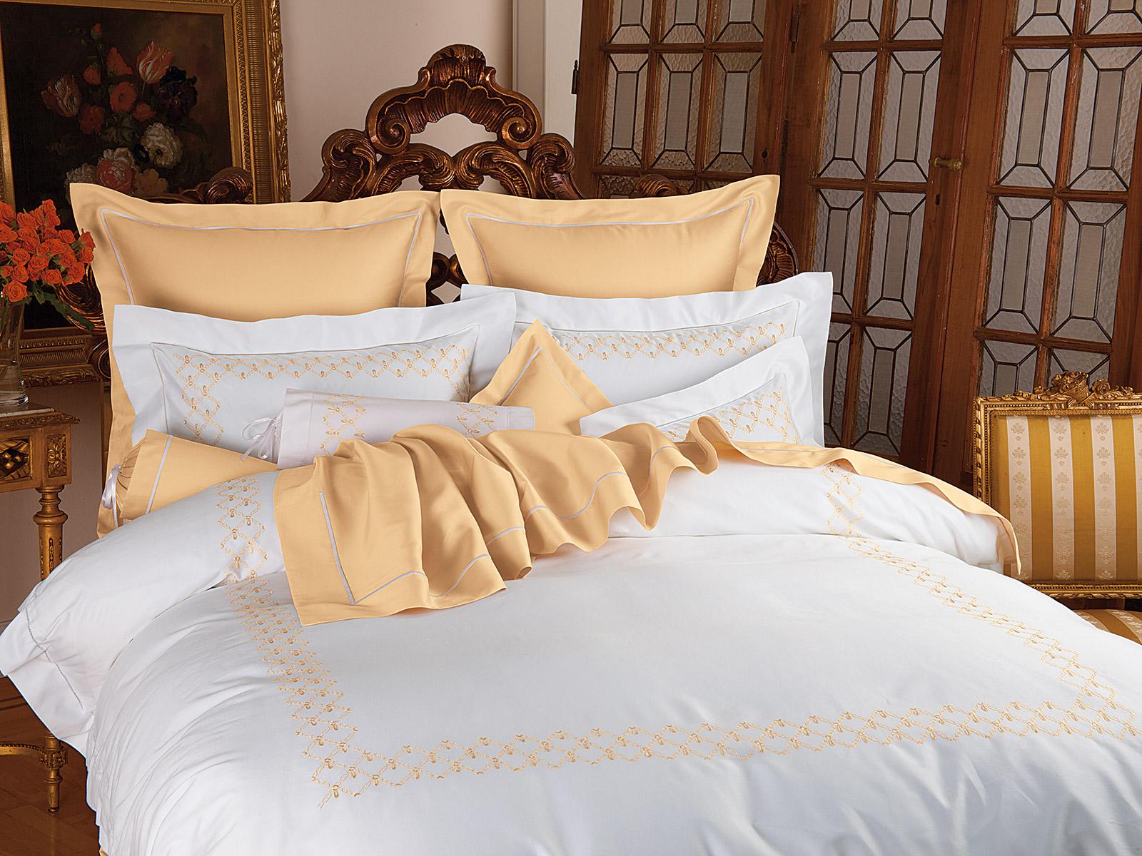 Aurora Luxury Bedding Italian Bed Linens Schweitzer