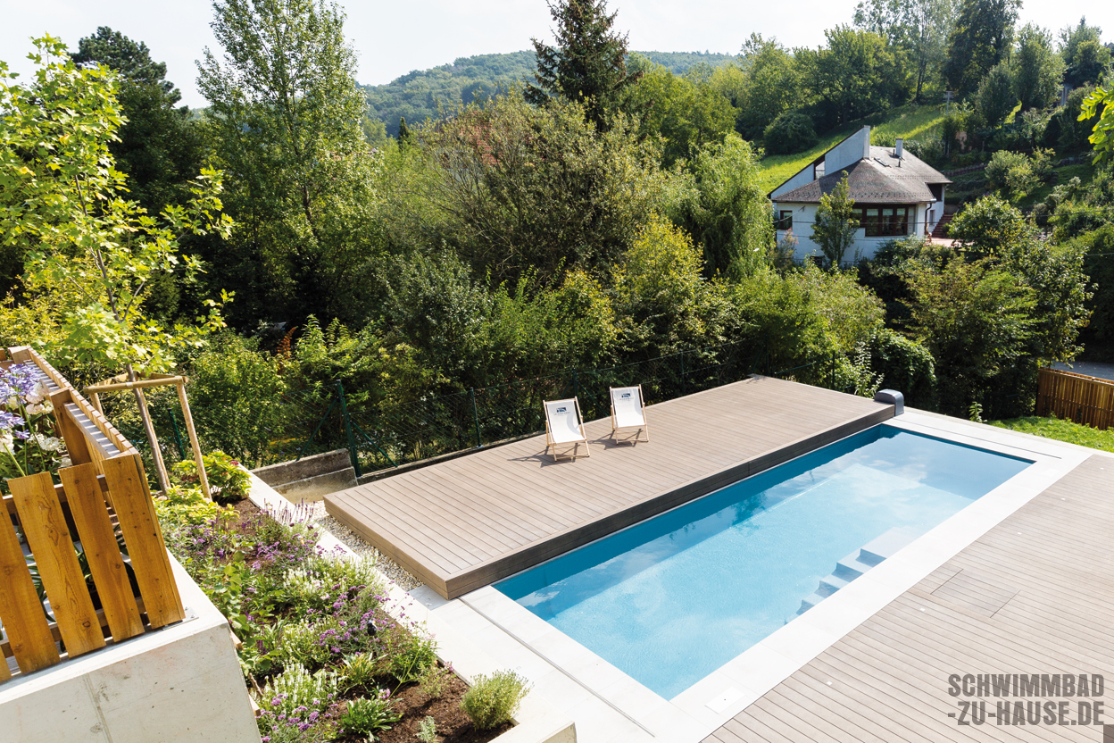 Garten Hanglage Pool Loft Am Hang