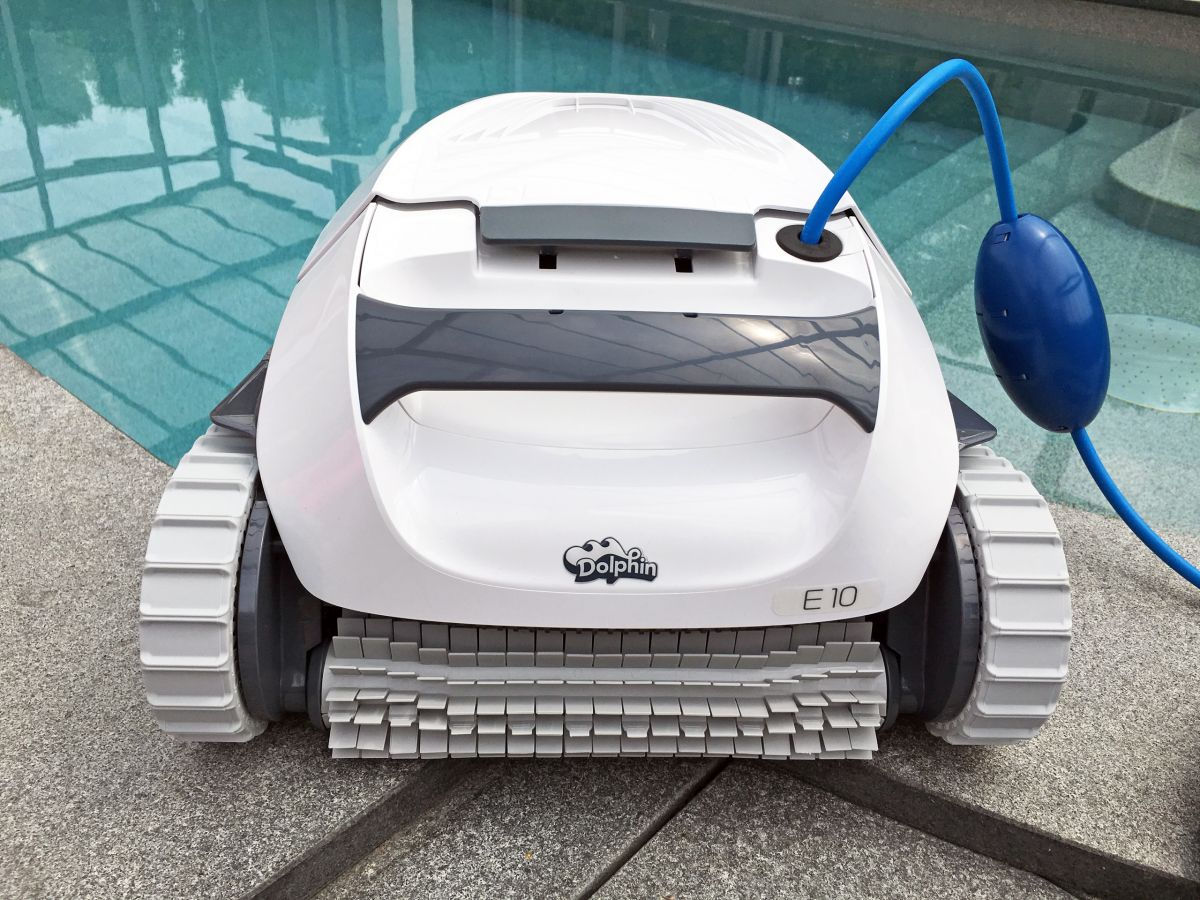 Bodensauger Pool Roboter Schwimmbad Bodenreiniger Dolphin E10 Bodensauger