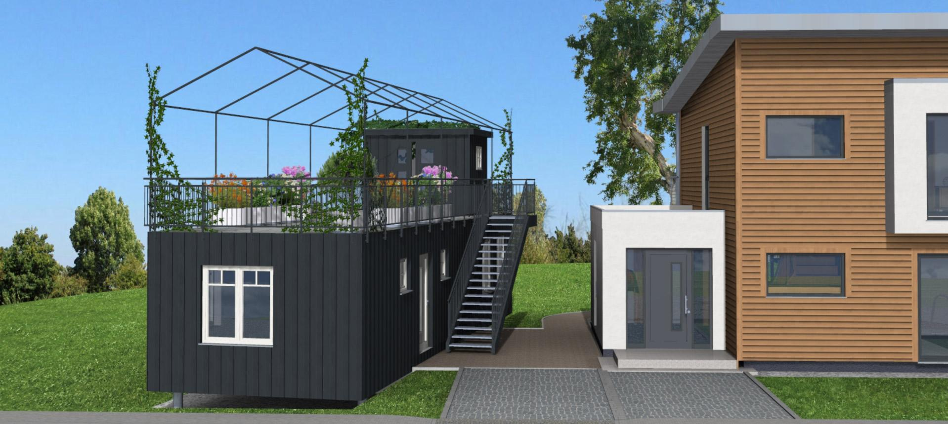 Schwörerhaus Flying Spaces Green Living Space - Kooperation Mit Ikea Und