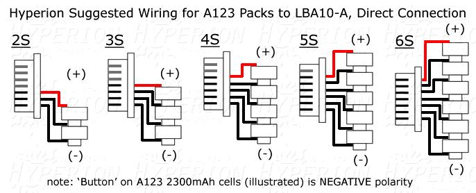 lipo balance wiring diagram