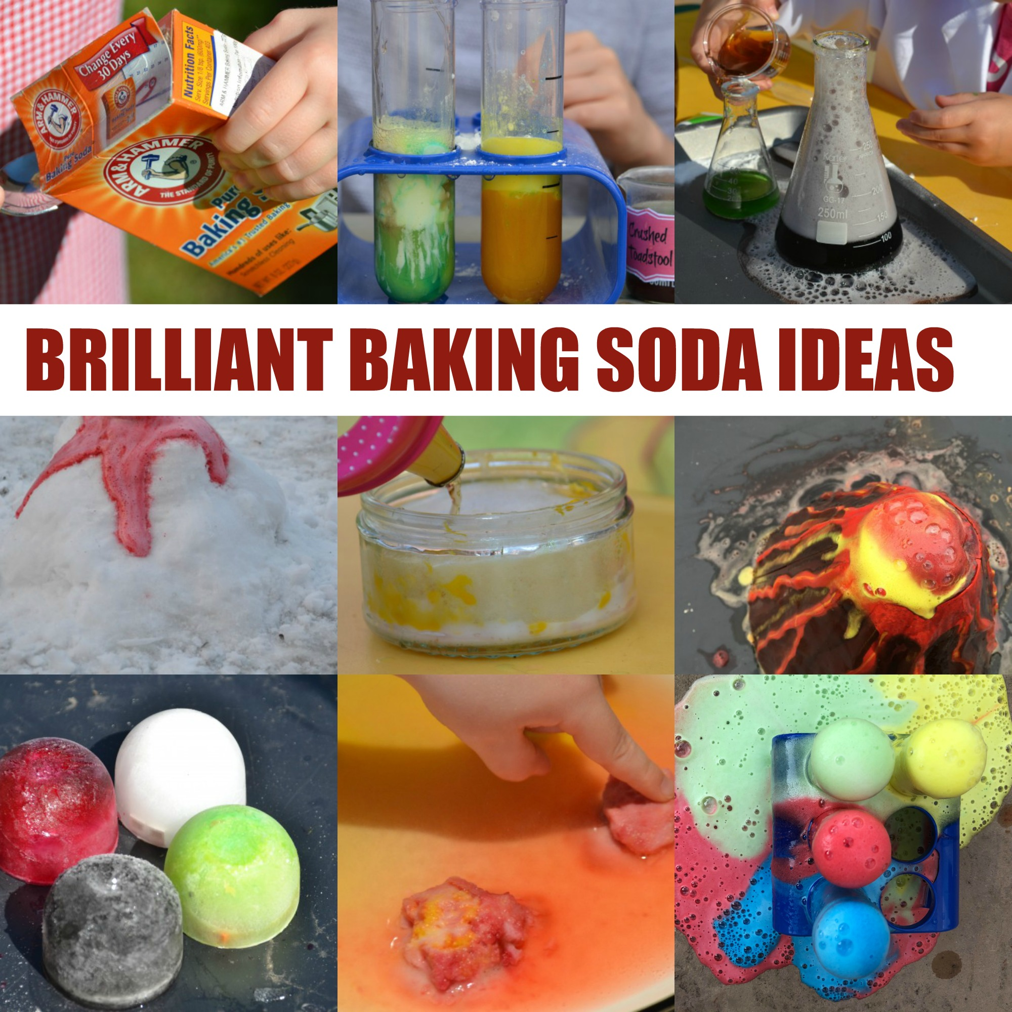 Baking Soda Met Citroen Amazing Baking Soda Experiments Science Sparks