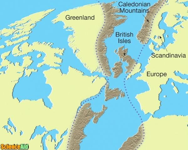 What Is the Theory of Continental Drift - ScienceAid