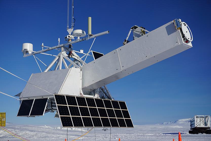 GRIPS telescope in Antarctica