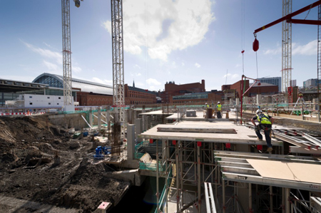The Francis Crick Institute being built