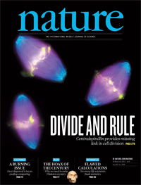 Nature cover - 12th December 2012