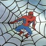 Spiderman's webbing would be strong enough to stop a moving train