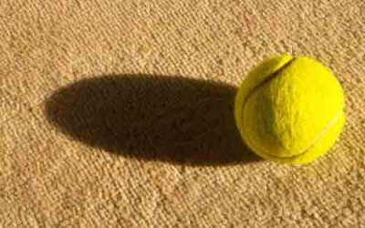 Why can't a woman play tennis like a man?