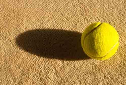 Q: How many ways can you arrange 128 tennis balls? A: 10^250