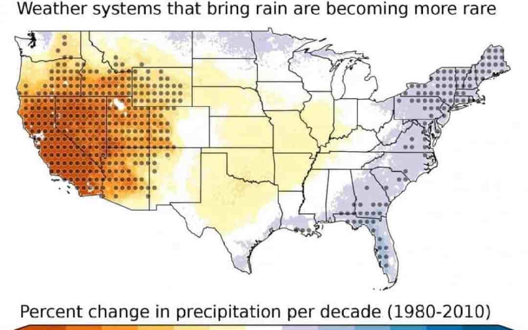 Southwest sliding into a drier climate