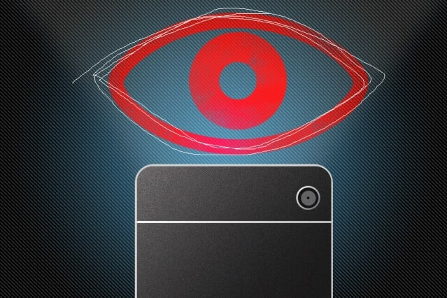 Eye-tracking system uses ordinary cellphone camera