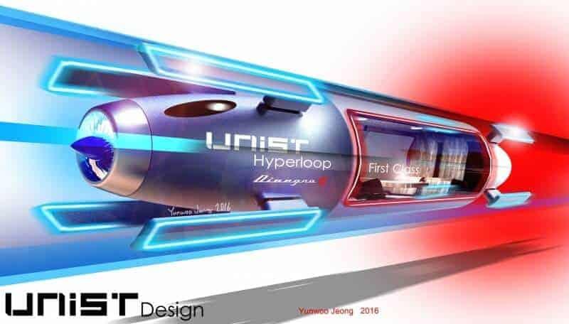 Koreans say they'll help develop Hyperloop technology