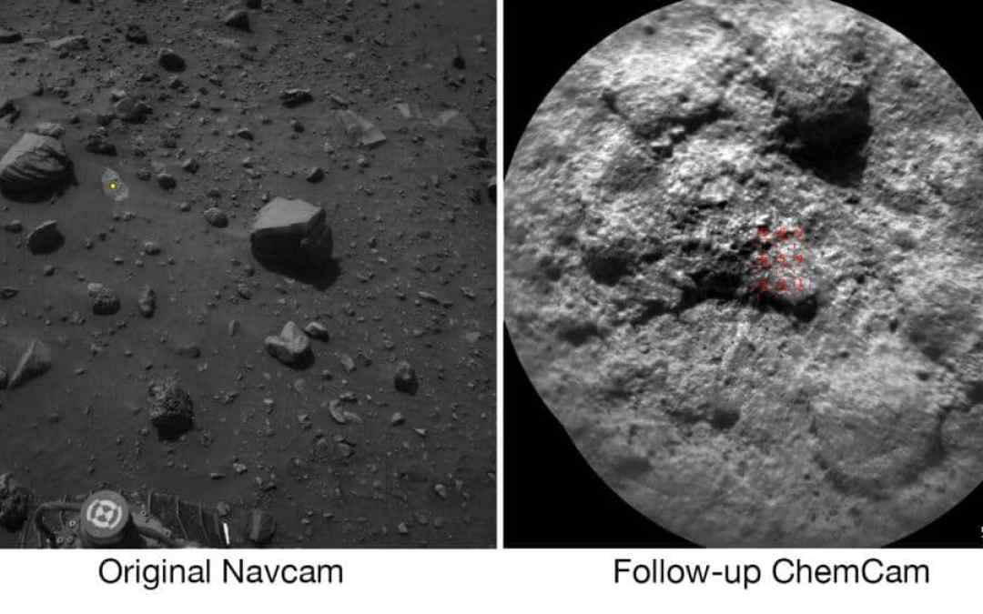 NASA Mars Rover Can Choose Laser Targets on Its Own