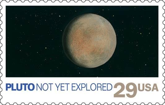 Pluto Stamp Earns Guiness World Record