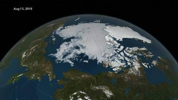NASA monitors the 'new normal' of sea ice