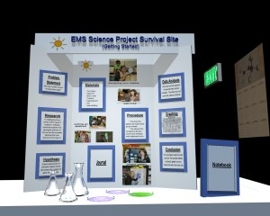 Science Fair Project Board Design