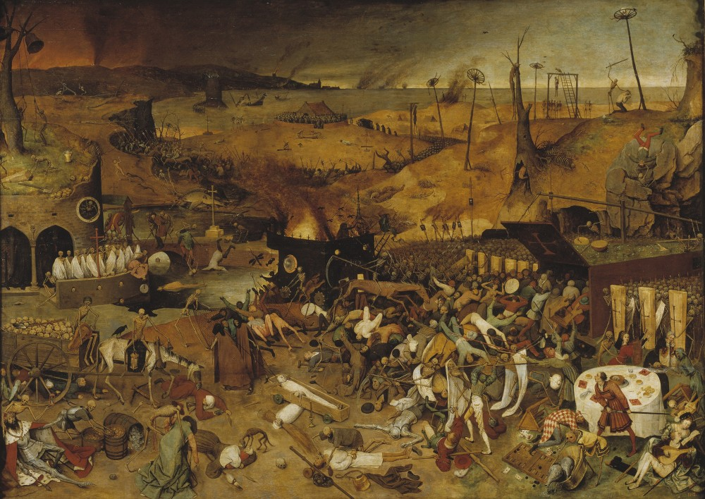 The Triumph Of Death -- Pieter Bruegel The Elder, The Black Death, Two Monkeys, & The Eighty Years War