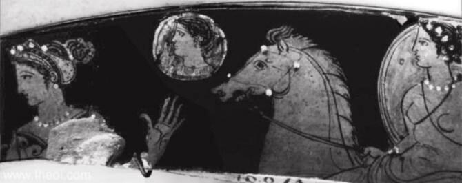 Nyx Ancient Greek art