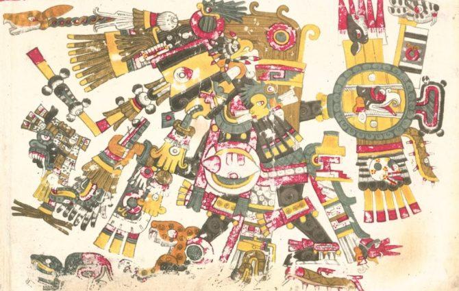 codex Borgia Tezcatlipoca