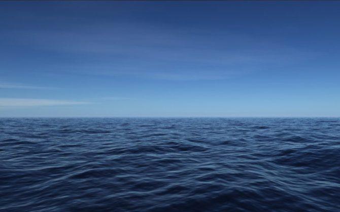 Ocean open waters
