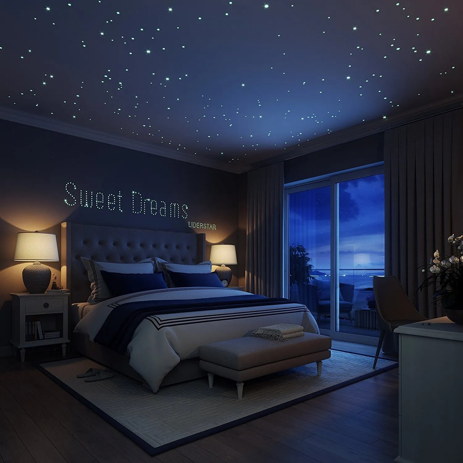 Galaxy Lights For Bedroom Science Shorts