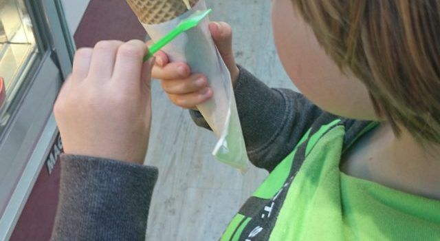 Silent snaps – a family day out in Galway – Part 4… the ice cream