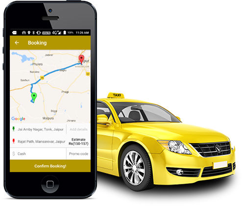 Online Taxi Booking App within Minutes by an Application