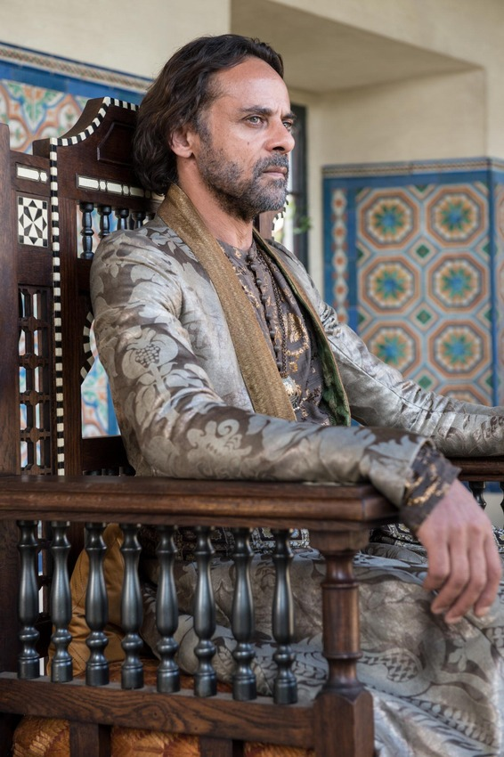 Dr Bashir, I presume? New photo of Alexander Siddig from Game of