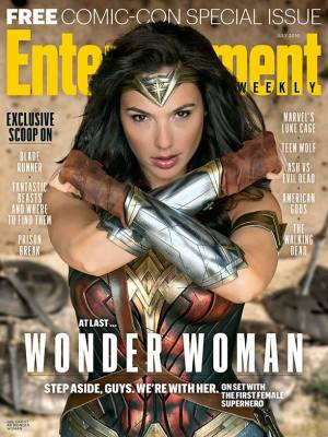 Wonder Woman Entertainment cover