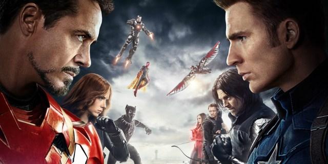 Team Captain vs Team Iron Man
