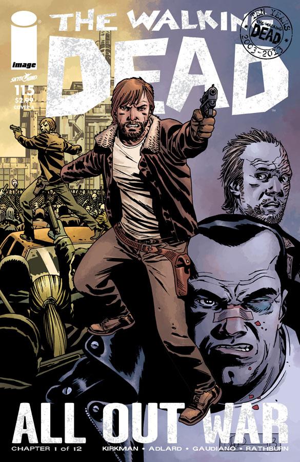 The Walking Dead #115 Review Sci-Fi Jubilee